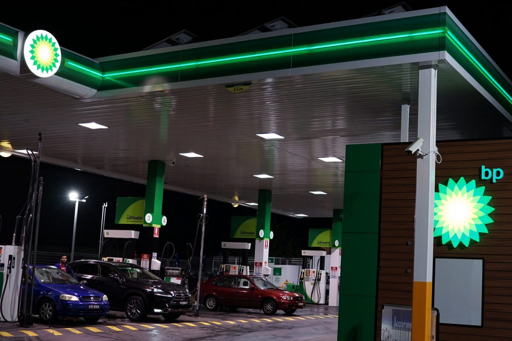 BP Service Station LED Lighting BP Carrington Service Station LED Lighting Upgrade