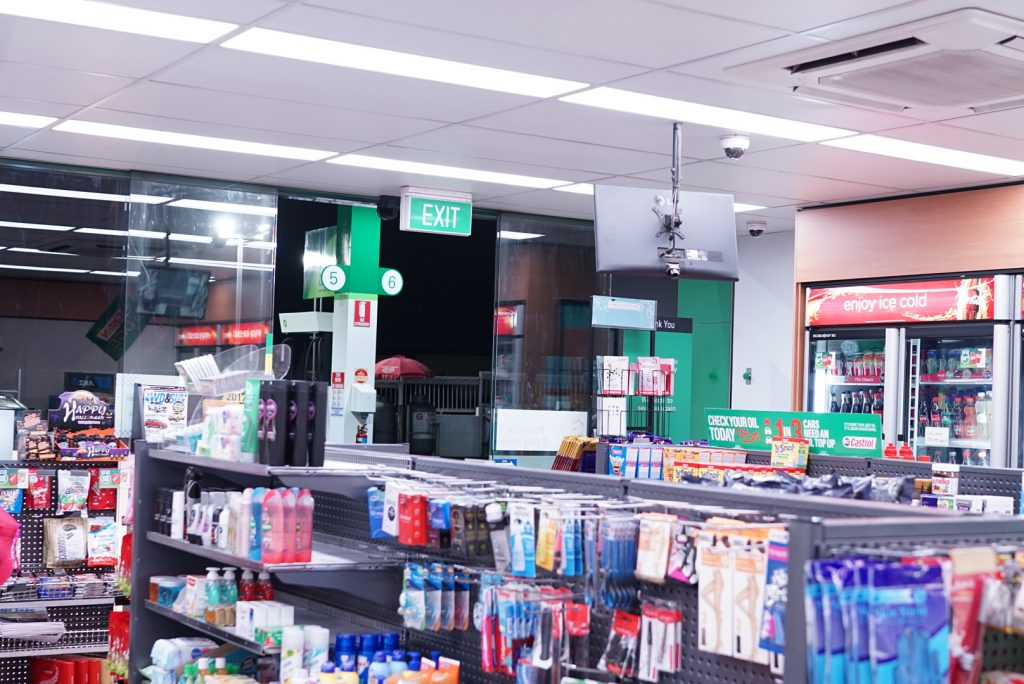 BP Carrington Service Station LED Lighting Upgrade
