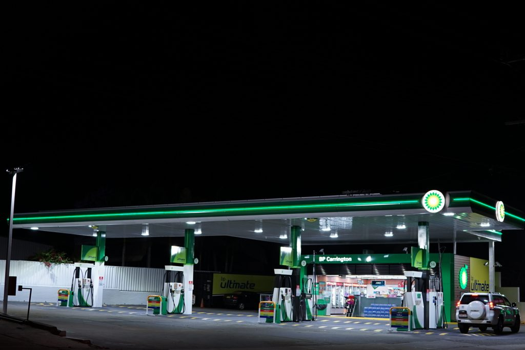 BP Service Station LED Lighting Carrington Service Station LED Lighting Upgrade