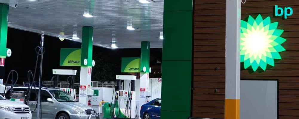 BP Service Station LED Lighting